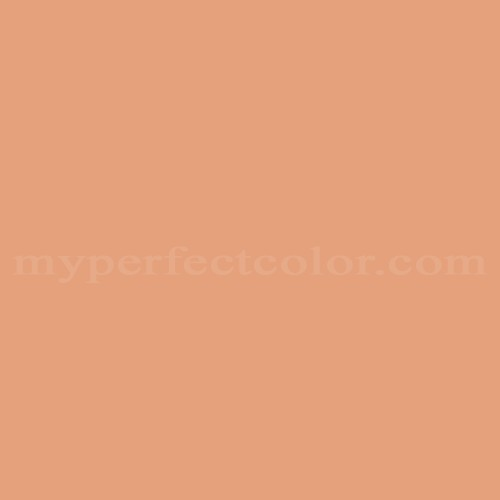 Match of Pittsburgh Paints™ 224-4 Orange Clay *