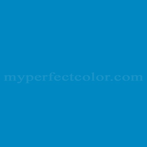 Match of Pittsburgh Paints™ 149-6 Electric Blue *