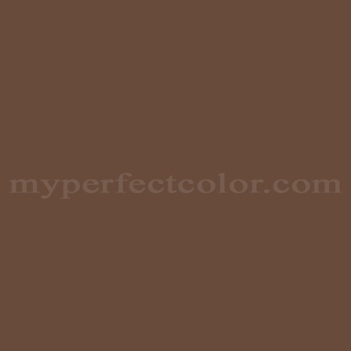 Match of Pittsburgh Paints™ 424-7 Chocolate Pudding *