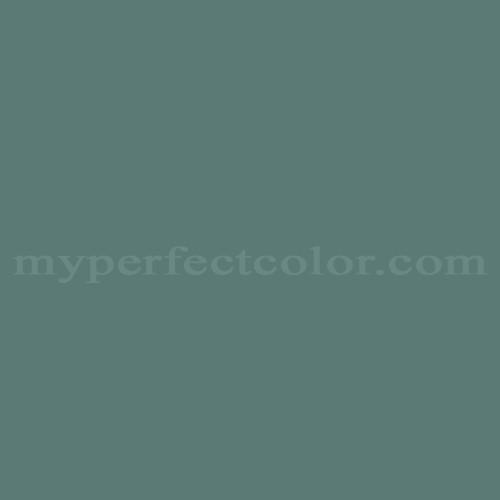 Match of Pratt and Lambert™ 1325 Eucalyptus Leaf *