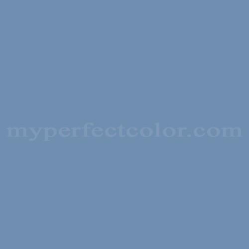 Color Match Of Rodda Paint 488 Denim Blue