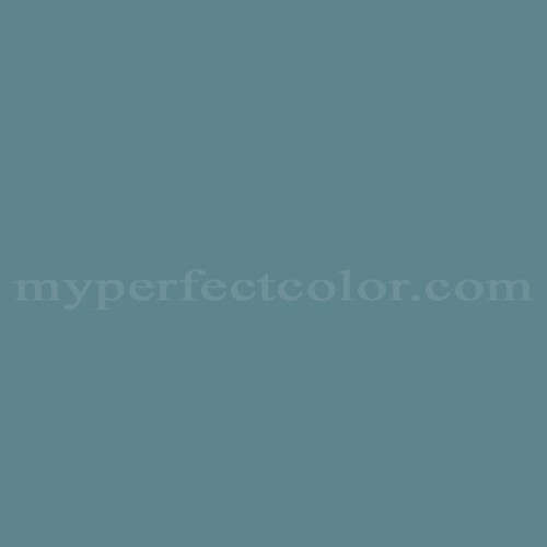 Color Match Of Ameritone Devoe 2c11 5 Teal Gray