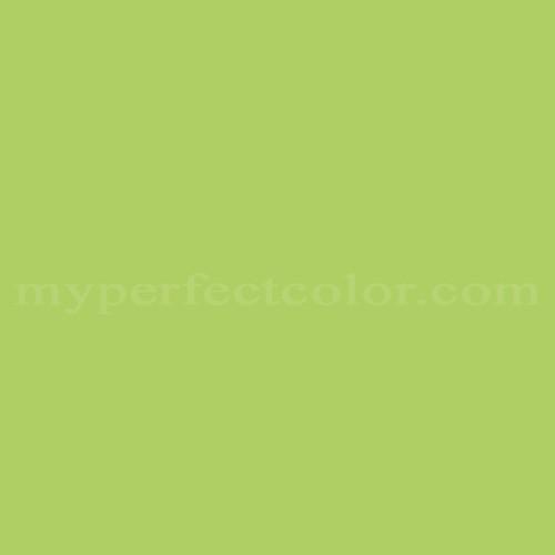 Match of Fuller OBrien™ F-61 Green Blitz *