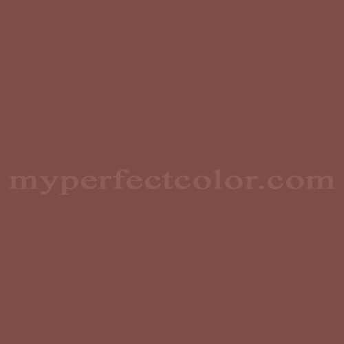 Color Match Of Janovic 183a Earthy Red