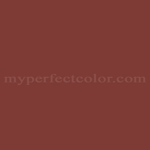 Match of Muralo™ A1061 Red Sienna *
