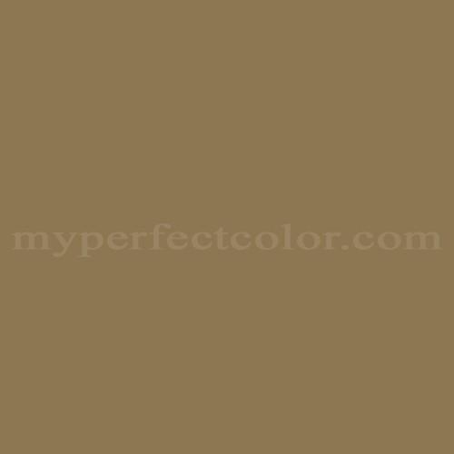 Match of Porter Paints™ 6912-2 Bur Oak *