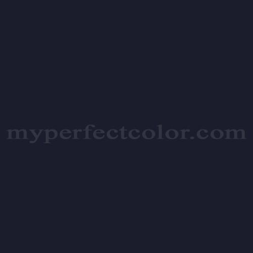 Color Match Of Wattyl Hie5 Midnight Blue