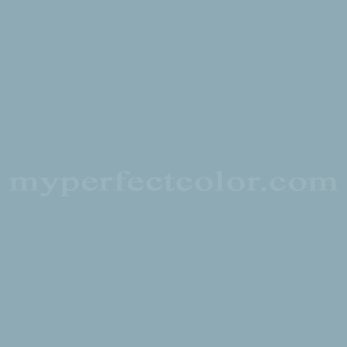 Behr Newport Blue Paint Color