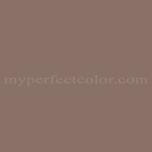 Color match of Cloverdale Paint 8655 Mocha Cafe*