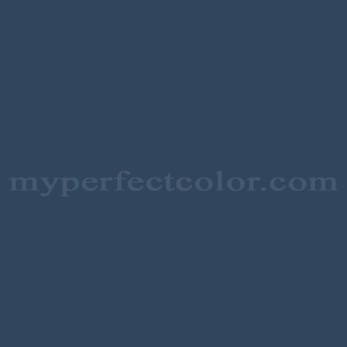 Color Match Of Mobile Paints 7301 Blue Moon Bay