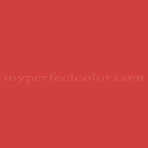 Benjamin Moore 2002 20 Bulls Eye Red Myperfectcolor