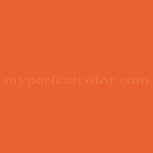 Benjamin Moore 2014 20 Rumba Orange Myperfectcolor