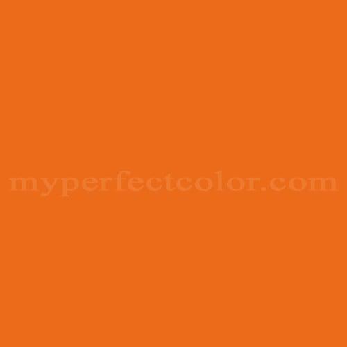 Benjamin Moore 2017 10 Electric Orange