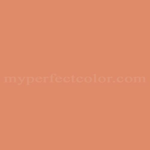 benjamin moore 075 flamingo orange | myperfectcolor