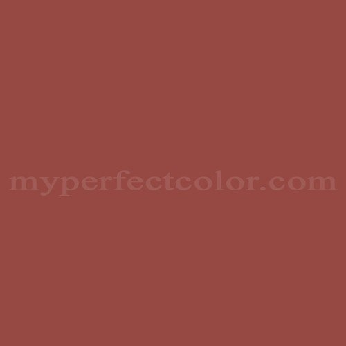 benjamin moore 1301 spanish red myperfectcolor