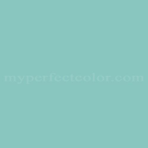 Benjamin Moore 669 Oceanic Teal Myperfectcolor