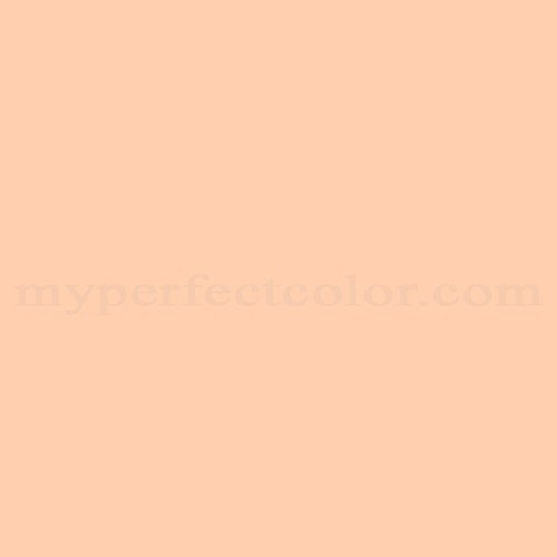 Dal worth paints 9 7p tawny peach match paint colors - Matching colours with peach ...
