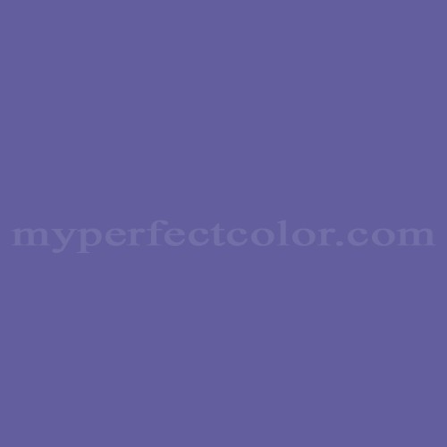 Color Match Of Duron 4055a Royal Purple