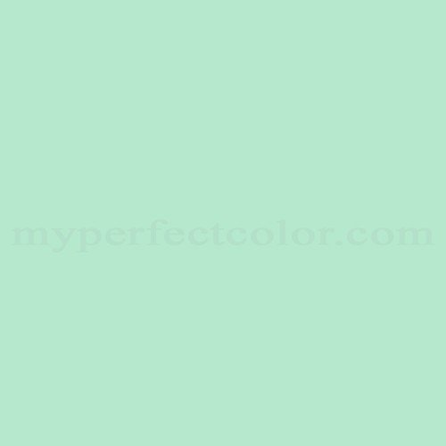 Color Match Of Devoe And Fuller 5c10 2 Celadon Splash