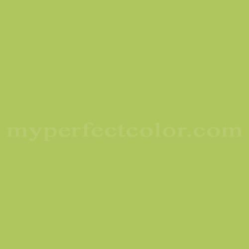 Color Match Of Devoe And Fuller 5c14 4 Lemon Thyme