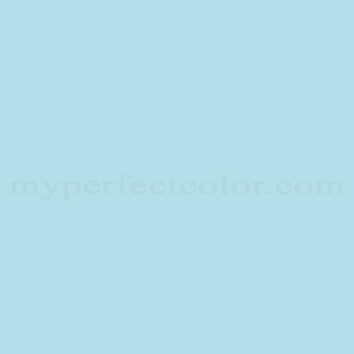 Color Match Of Devoe And Fuller 5c2 1 Tropical Blue
