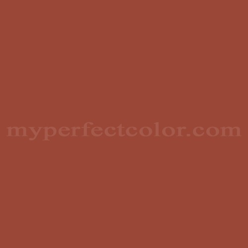 Color Match Of Devoe And Fuller 4wa25 4 Rustic Red