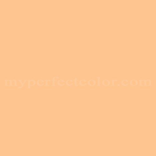 color your world m 1033 mellow orange match paint colors