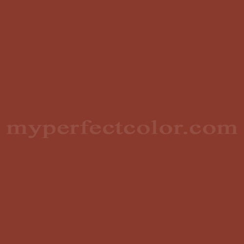 color your world 28yr10 372 bold terracotta match paint. Black Bedroom Furniture Sets. Home Design Ideas