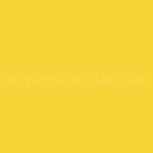 Color Match Of Your World 54yy69 747 Green Lemon