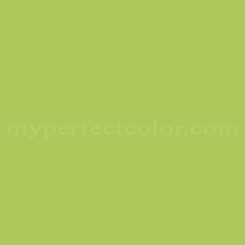 Color Match Of Huls 107 Green Willow