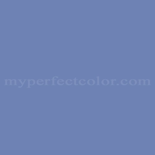 Color Match Of Guild 7035d Lavender Blue