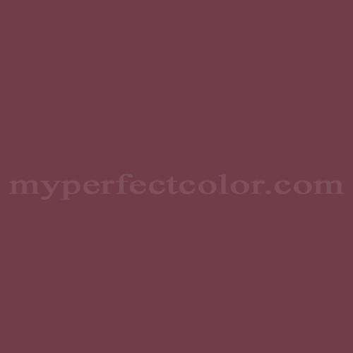 Color Guild Ac128n Rich Burgundy Match Paint Colors Myperfectcolor