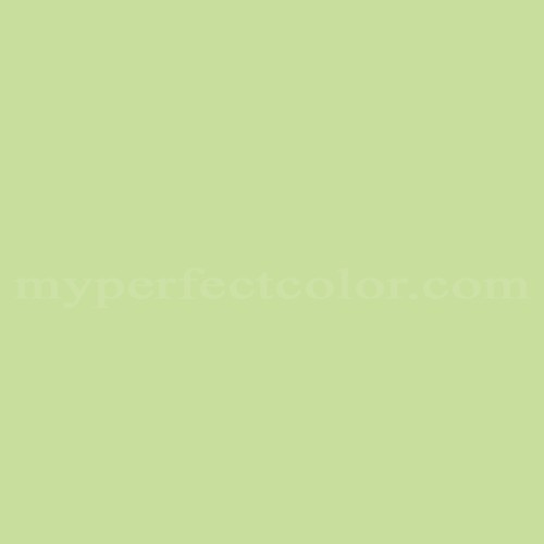 Color Match Of Behr 1a59 4 Spring Green