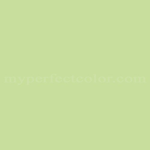 Color match of Behr 1A59-4 Spring Green*