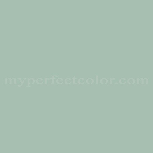 Color Match Of Behr 8484 Seafoam Green