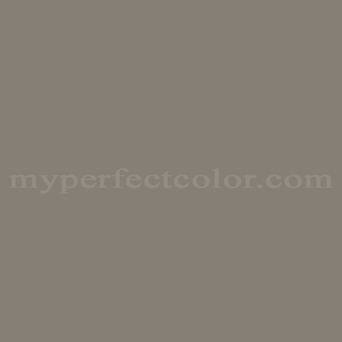 Color Match Of Behr 838 Taupe Gray