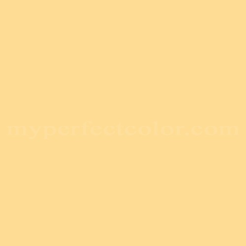 Behr Th 87 Vintage Yellow Match Paint Colors