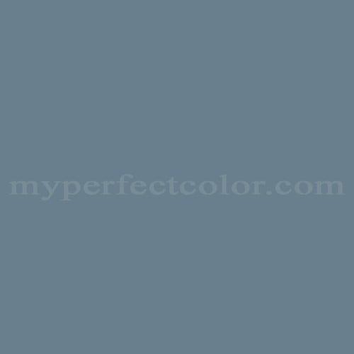 Color Match Of Behr Rah 74 Slate Blue