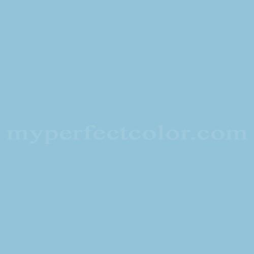 Color Match Of Ameritone Devoe 2m33e Lagoon Blue