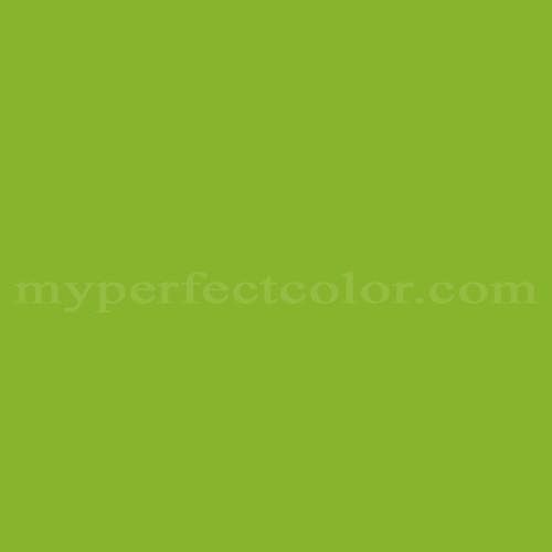 Color Match Of Para Paints B615 7 Parrot Green