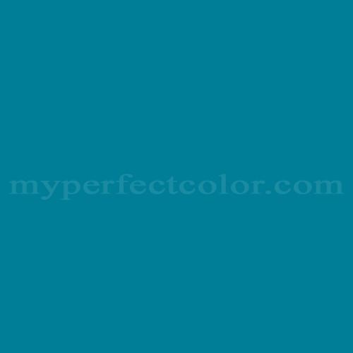 Color Match Of Para Paints B865 3 Teal Blue