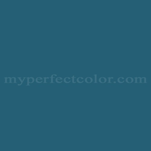 Color Match Of Para Paints F1208 3 Moroccan Blue