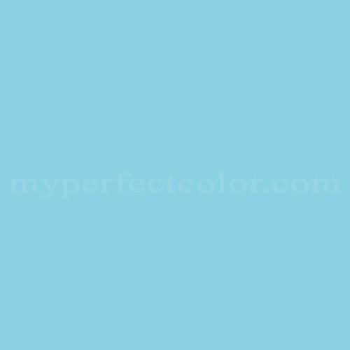 Color Match Of Para Paints B868 1 Blue Lagoon
