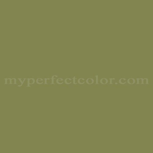 Color Match Of Para Paints B640 3 Green Tea