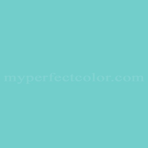 Color Match Of Pittsburgh Paints 156 5 Tropical Splash*