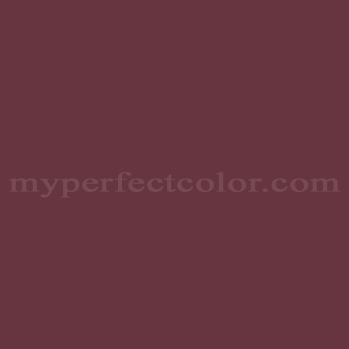 Color Match Of Pittsburgh Paints 436 7 Red Wine