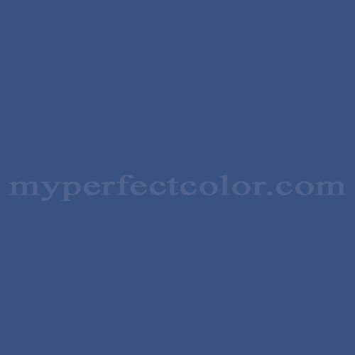 Match of Pittsburgh Paints™ 346-7 Blue Jewel *