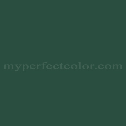 Match of PPG Pittsburgh Paints™ 404-7 Billiard Green *