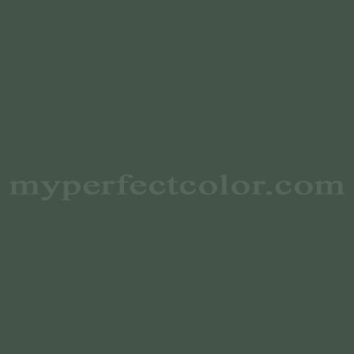 Color Match Of Pittsburgh Paints 503 7 Dark Green Velvet