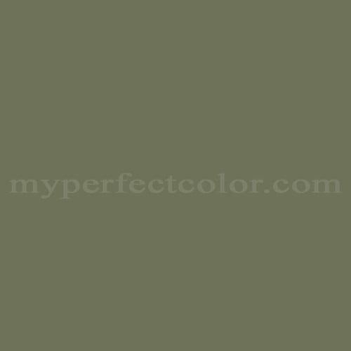 Pittsburgh paints 409 6 dark sage match paint colors for Dark sage green paint color
